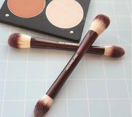 Hourglass Makeup Canada - HOURGLASS fiber brushes make-up flames high-gloss blush brush repair capacity brush Double makeup brush