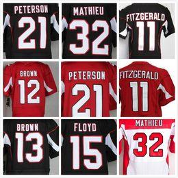 ... Black White Jersey Accept Mix Orders 12 John Brown 32 Tyrann Mathieu 13  Kurt Warner 15 Michael Floyd 11 Larry Fitzgerald 21 Nike Arizona Cardinals  ... 61d662222