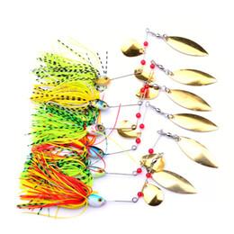 $enCountryForm.capitalKeyWord NZ - Lot 6pcs Mixed Color Spinner Fishing Lures Bass CrankBait Crank Bait Tackle Hook F00490