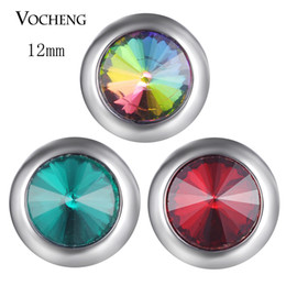 $enCountryForm.capitalKeyWord NZ - Vocheng Snap Jewelry Accessory Small Noosa Chunks Petite Ginger Snaps 12mm 3 Colors Snap Charms Vn-1827