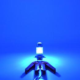 Ingrosso Cooleeon Cold Blue LED Auto fendinebbia H4 H11 H7 100W Auto Signal Bulbs Head Lampade decorative per veicoli 12V 24V