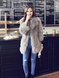1fedeca165b Black korean ladies jacket online shopping - 2017 New Autumn Winter Coat  Korean Faux Fur Coat