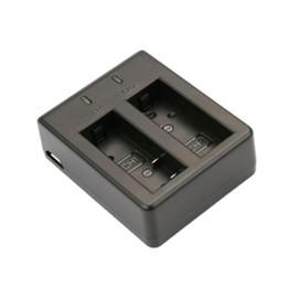 $enCountryForm.capitalKeyWord NZ - Wholesale- Camera DV Dual Slot Charger Battery Charger For SJCAM SJ4000 SJ5000 Camera Batteries Charging Small Size
