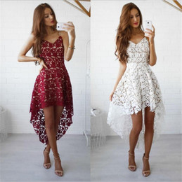 d1d06a90791 8 Фотографии Белые кружевные бохо летние платья для продажи-Летняя Мода  Женщины Сексуальное Платье Boho Повседневная Мини