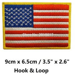 $enCountryForm.capitalKeyWord NZ - USA US AMERICAN UNITED STATES FLAG ARMY UNIFORM MILSPEC FULL COLOR Hook & Loop Patches Embroidered MORALE MILSPEC MILITARY SWAT