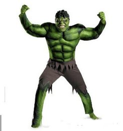 Avengers dresses online shopping - Hot Avengers Hulk Costumes for kids Fancy dress Halloween Carnival Party Cosplay Boy Kids Clothing Decorations Supplies
