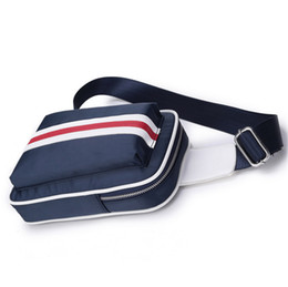 fdfce1dbf49b Nylon Chest Pack Sling Bag Canvas Men Messenger Bags Casual Travel  Waterproof Fanny Flap Male Retro Shoulder Bag BA212