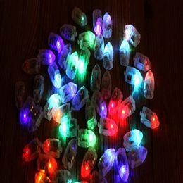 Glow Party Decorations Australia - Waterproof Lanterns Balloons LED Party Flash Lighting Glow Lamp Bulbs Ball for Wedding Party Led Decoration DHL Free Shipping