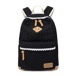 $enCountryForm.capitalKeyWord Canada - WholeTide- New Korean Canvas Printing Backpack Women School Bags For Teenage Girls Cute Bookbags Vintage Laptop Backpacks Female
