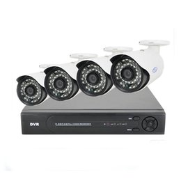hd ahd cctv camera Australia - 2MP HD 4CH AHD CCTV System Kit 1920*1080P Home Metal Bullet Security Camera DVR Kit AHD 3000TVL Outdoor 4 Channel Surveillance no HDD
