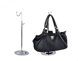 $enCountryForm.capitalKeyWord Canada - 10pcs Best-selling wig display stand handbag display rack adjustable women bags purse hat silk scarf Clothing hooking prop holder