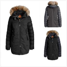3612a69d28 2017 Women Thin light Brand Down jacket WINTER PJS-GRAN Down   Parkas Big  coyote Fur Collar White goose down Outerwear   Coats WITH FUR HOOD
