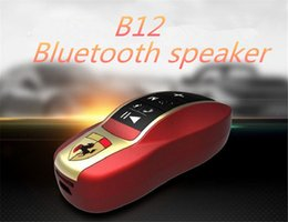 $enCountryForm.capitalKeyWord Canada - New B12 Car Model Bluetooth Speaker Wireless Portable Subwoofer Loud Stereo 3W Speaker with FM TF slot for computer Cellphone 13-YX