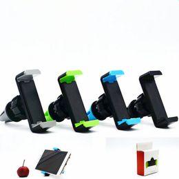 360 градусов Поворот воздуха Vent Frame держатель Автомобильный телефон держатель для iPhone 7 6 6s Samsung s7 s6 s5