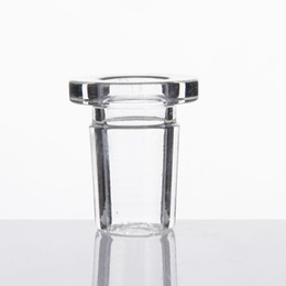 China New Short Adaptor with 14F-19M 10F-14M. High Borosilicate Glass Adapter for glass somking bongs for retail suppliers