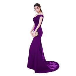 $enCountryForm.capitalKeyWord UK - Sleeveless Robe De Soiree Mermaid Burgundy Long Evening Dress Party Elegant Vestido De Festa Long Evening Dress Lace Prom Dress with Belt