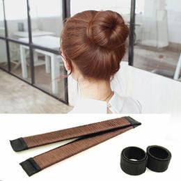 Vente en gros 2017 New Magic Hair Styling Multi Fonction Accessoires Pour Cheveux French Twist Magique DIY Outil Bun Maker Hair