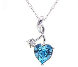 $enCountryForm.capitalKeyWord Australia - 2017 NewIn the heart of your crystal necklace A short pendant necklace lucky love necklace DZ9