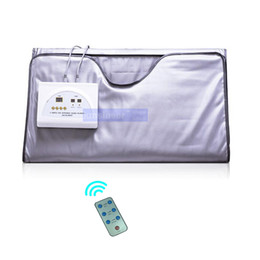 $enCountryForm.capitalKeyWord UK - New Arrival !Quick effect 2 Zone Infrared Sauna Blanket FIR Far infrared Slimming heating SPA Therapy PORTABLE WEIGHT LOSS DETOX machine