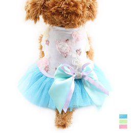 $enCountryForm.capitalKeyWord Canada - armipet Flowers Sequins Decoration Dog Dresses Cute Dogs Princess Dress 6071071 Pet Summer Clothes Pink, Green, Blue