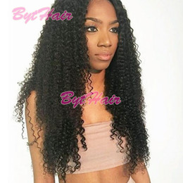 $enCountryForm.capitalKeyWord NZ - Bythair Cheap Brazilian Full Lace Wig Swiss Lace 100% Hand Tied Deep Curly Human Hair Wigs Lace Front Wigs With Baby Hair