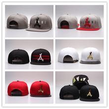 0cc5fa87ab96a NEWEST THA Alumni Iron standard hip-hop hat Gold Logo bone Snapback Caps  Black Red Brand Hip Hop Men s Adjustable sports hats
