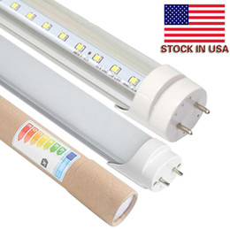 Discount emc ac led No Tax Fee + 4ft led t8 tubes Light 18W 20W 22W 1200mm Led Fluorescent Lamp Replace Light Tube AC 85-265V+Stock In USA