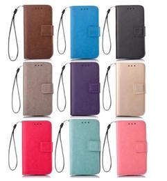 $enCountryForm.capitalKeyWord Australia - Retro Matte Wallet Leather Case Pouch For Huawei Ascend MATE 8 Honor 7I 5C 5A Y6 II 4A Y3 Y5 II TPU Stand Card Money Skin Cover Luxury 50pcs