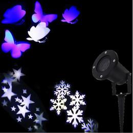 $enCountryForm.capitalKeyWord Canada - 2016 new Christmas Lights Outdoor LED Snowflake Projector Light Star Projector Batterfly Light Waterproof Snow Laser Christmas Lights