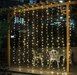 $enCountryForm.capitalKeyWord NZ - 3x3 led icicle led curtain fairy string light fairy light 300 led Christmas light for Wedding home garden party decor
