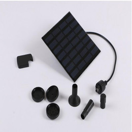 $enCountryForm.capitalKeyWord Canada - 7V 1.2W Solar Panel Power Submersible Fountain Pond Pool Water Cycle Pump Outdoor Garden Brushless