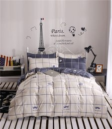 chinese beds 2019 - Wholesale- New 2016 hot sale home textile,reactive print 4pcs bedding sets quilt cover bed sheet pillowcase twinn queen