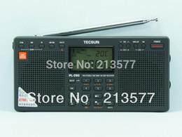 Оптово-Китай Известный бренд Radio // TECSUN PL-390 FM / AM / LW / SW / MW Dual Speaker Radio