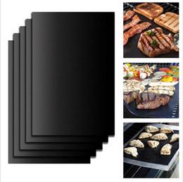 $enCountryForm.capitalKeyWord Canada - Hot Sale Teflon Non-stick Reusable BBQ Grill Mats Sheet Baking mat for barbecue grill sheet cooking Outdoor BBQ Accessories 40*33*0.2CM