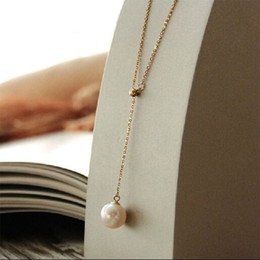 $enCountryForm.capitalKeyWord Canada - mother of pearl jewelry for women new design fashion pendant Necklace Stainless Steel Chain Gift Hot Sale Jewelry