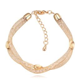 swarovski elements crystal bracelets women 2019 - 2017 New Streets Design Magic Bag Bracelets For Women Full With Swarovski Elements Crystal Luxury Bangles Weddings Jewel
