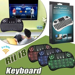 rii gaming keyboard NZ - Rii i8 Mini Keyboard 2.4GHz Wireless Backlight Gaming Keyboards Air Mouse Remote Control For PC Pad Google Andriod TV Box Xbox360 PS3 OTG