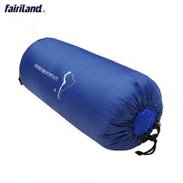 sleeping bag duck 2019 - L size -25°C~-10°C 213X82cm portable winter Mummy sleeping bags white duck down waterproof outdoor cold weather camping