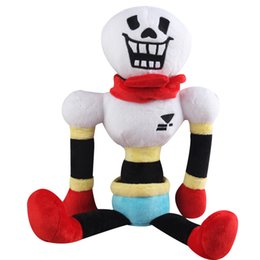 Skull Kid Figure Australia - Legend under the plush toys Undertale dolls 30 cm skulls cartoon toys puzzle toys seven colors optional