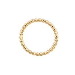 $enCountryForm.capitalKeyWord UK - Factory Price New Simple Bead Rings Silver Gold Rose Gold Plated Fashion Ring For Women Can Mix Color EFR023