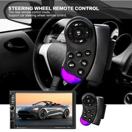 Inch Vcd Player Canada - 7 Inch HD Touch Screen 2 Din Bluetooth Car Audio Stereo FM MP5 Player Support AUX   USB   TF   Phone CMO_21M