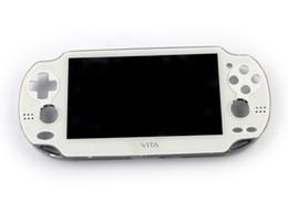 Branco Original novo para PSVita 1000 PSV1000 PSV 1000 Display LCD com Tela de Toque LCD Digital Montado Preto Com Moldura