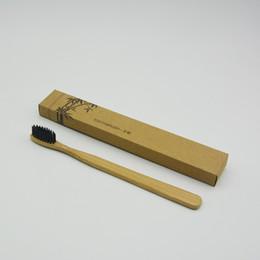 2017 Venta Caliente Personalizada Cepillos de Dientes de Bambú Limpiador de Lengua Dientes Dentadura Kit de Viaje Cepillo de Dientes MADE IN CHINA ENVÍO GRATIS