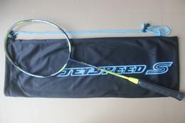 Jetspeed S10 Badmintonschläger. JS-12 Hochwertiger Nano-Carbon-Badmintonschläger. Kostenloser Versand