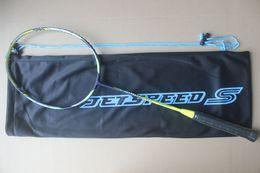 Jetspeed S10 raquetas de badminton. JS-12 de gama alta nano carbono bádminton raqueta. Envío gratis