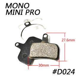 disc mtb NZ - NEW Catazer Semi Metallic MTB Cycling Bike Disc Brake Pads Brake Pad Fit For HOPE MONO MINI PRO Free Shipping 4 Pair