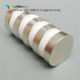 Neodymium N52 Earthing Magnet NZ - 1 pack N52 NdFeB Magnet Large Disc Diameter 40x10 mm about 1.57'' Strong Neodymium Magnets Axially Magnetized Rare Earth Permanent Magnets