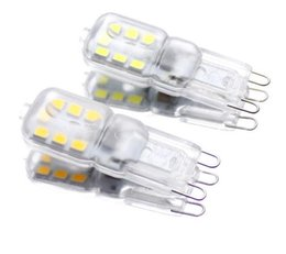 Chinese  New G9 led 3W AC 220V G9 lamp Led bulb non- dimmable SMD 2835 14leds G9 light Replace 30w halogen lampada led lamp Spotlight 10pcs+++ manufacturers