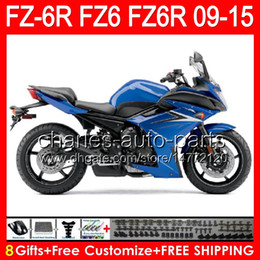$enCountryForm.capitalKeyWord Australia - gloss blue 8gifts For YAMAHA FZ6R 09 10 11 12 13 14 15 FZ6N FZ6 89NO139 FZ-6R FZ 6R 2009 2010 2011 2012 2013 2014 2015 blue black Fairing