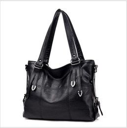 bc5c3f3922 VANDERWAH Four Arrows Lady Top-handle Bags Handbags Women Famous Brands  Female Stitching Casual Big Shoulder Bags Tote For Girls